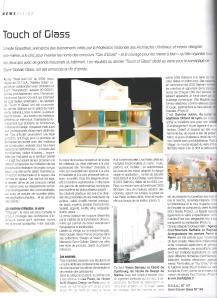 Touch Of Glass dans Archi-Créer - janvier 2010