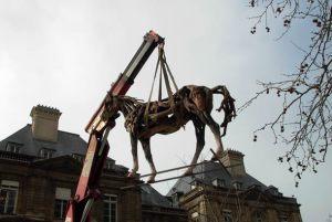 """""""Paris"""" dans Les Jardins du Luxembourg"""