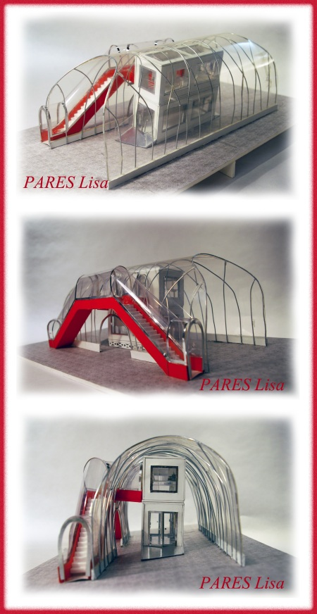PARES Lisa - projet Beaubourg