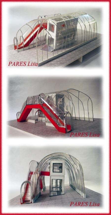 PARES Lisa - projet Beaubourg